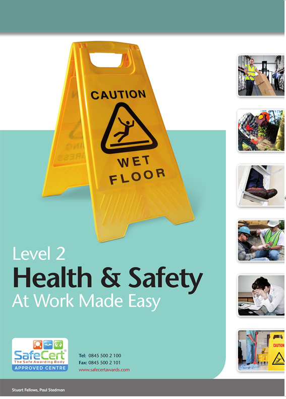 health and safety book