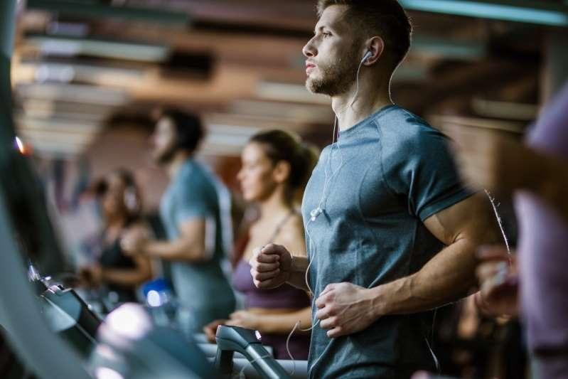 guy in gym