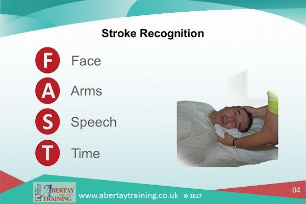first aid stroke