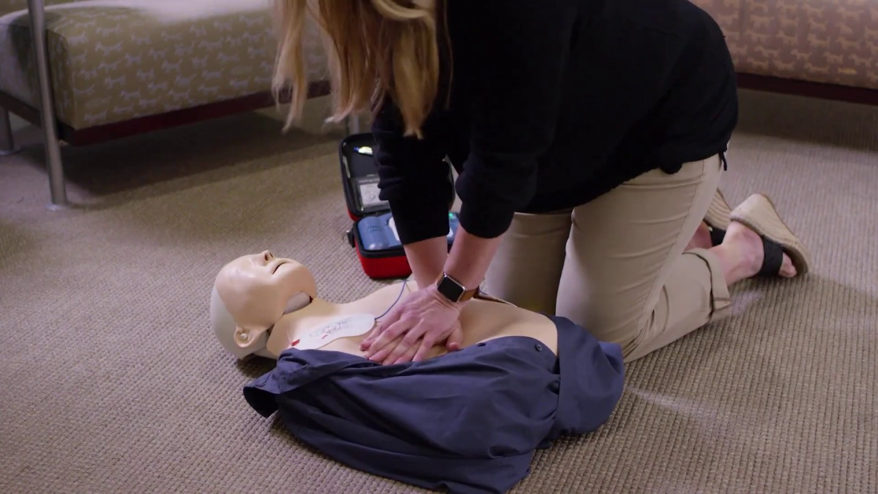 AED and CPR Trainer Video