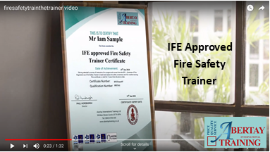 IFE Fire Safety Train the Trainer