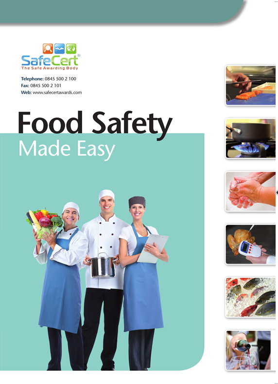 Food Safety Training Manual - A5 Book