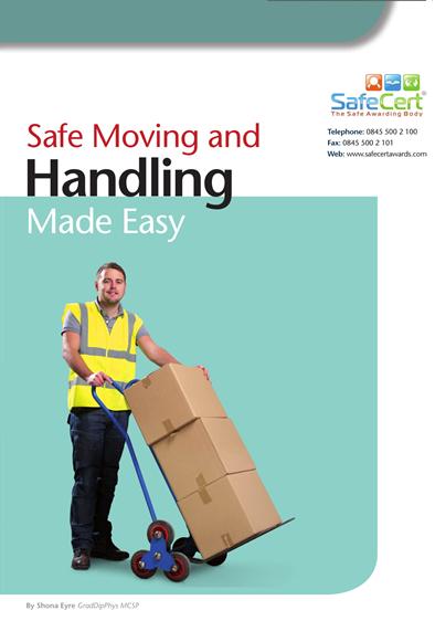 Manual Handling Training Manual - A5 Book