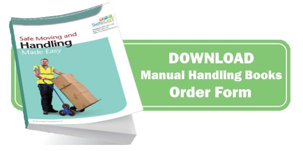 Manual Handling Training Book Order Form