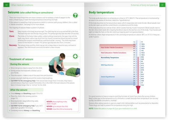 Emergency Paediatric First Aid Book