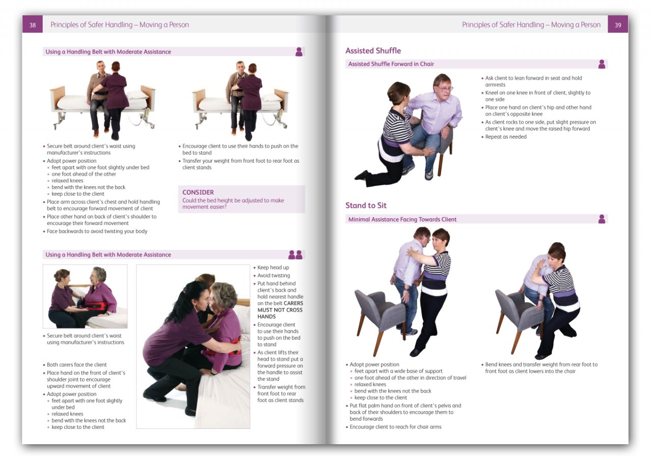 Safer Moving of People Training Book