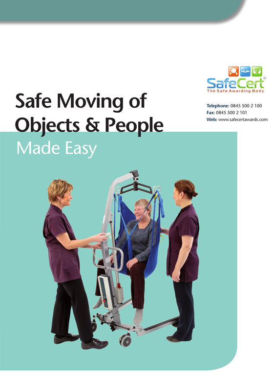 Safer Moving of People Training Manual - A4 Book