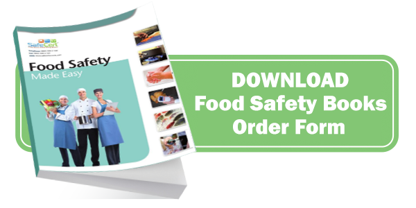 Food Safety Manual Order Form