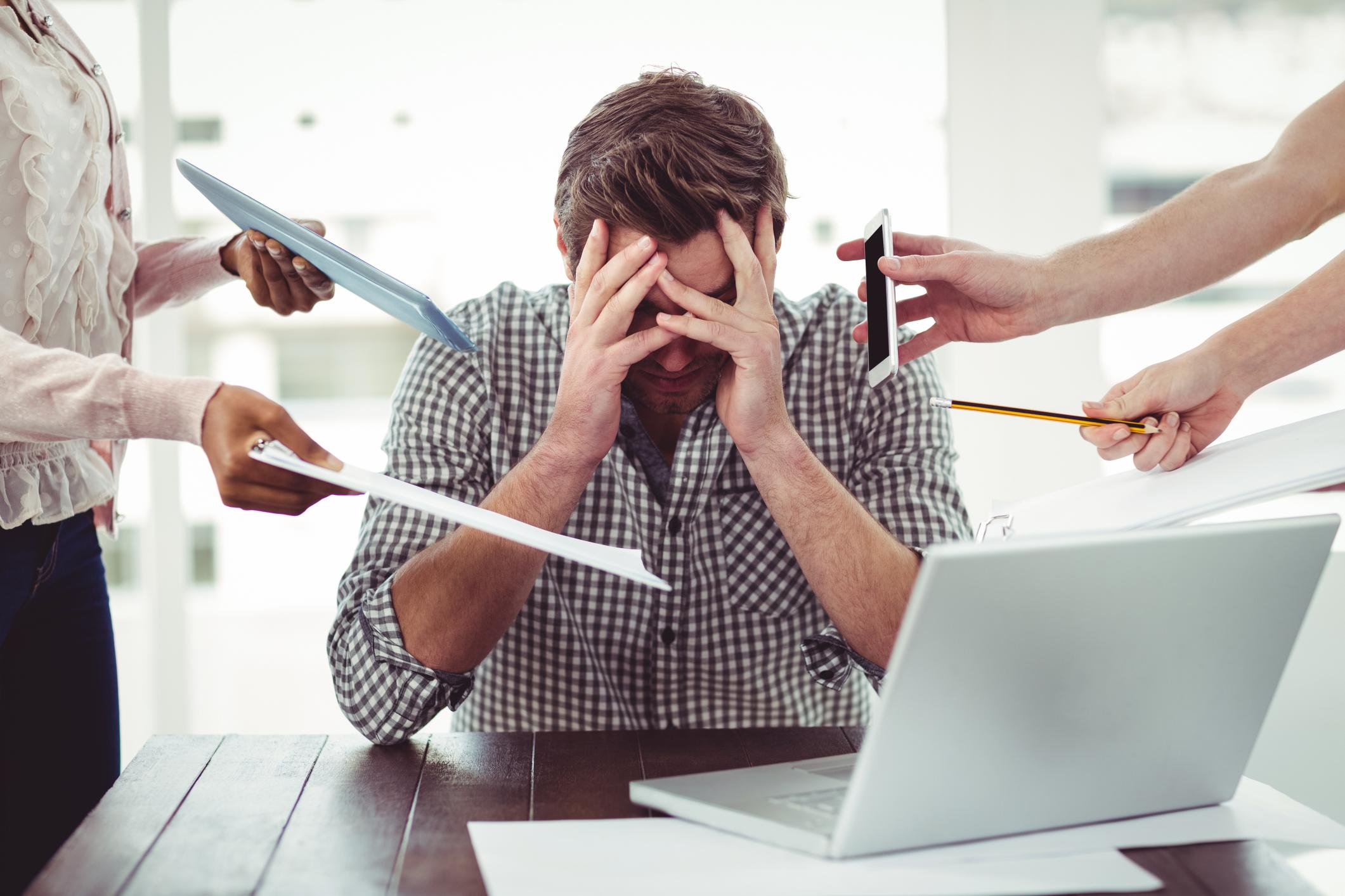 Stress at work questions
