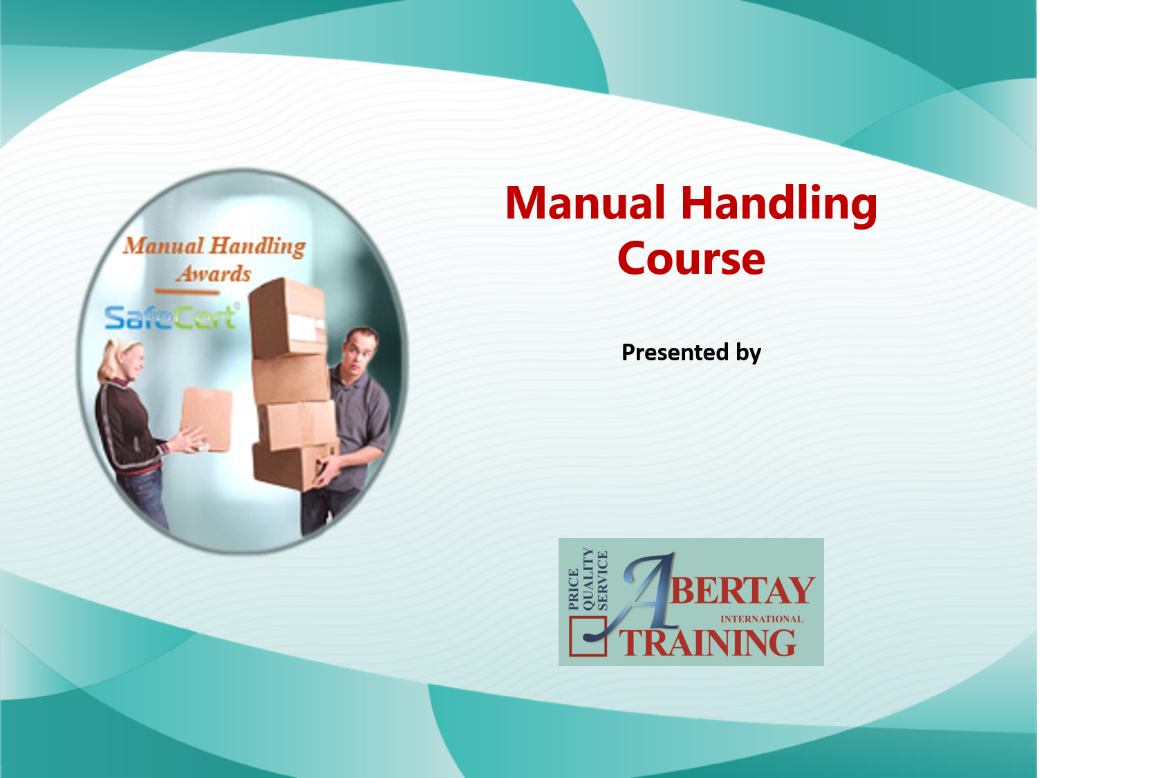 Manual Handling PowerPoint Picture 1